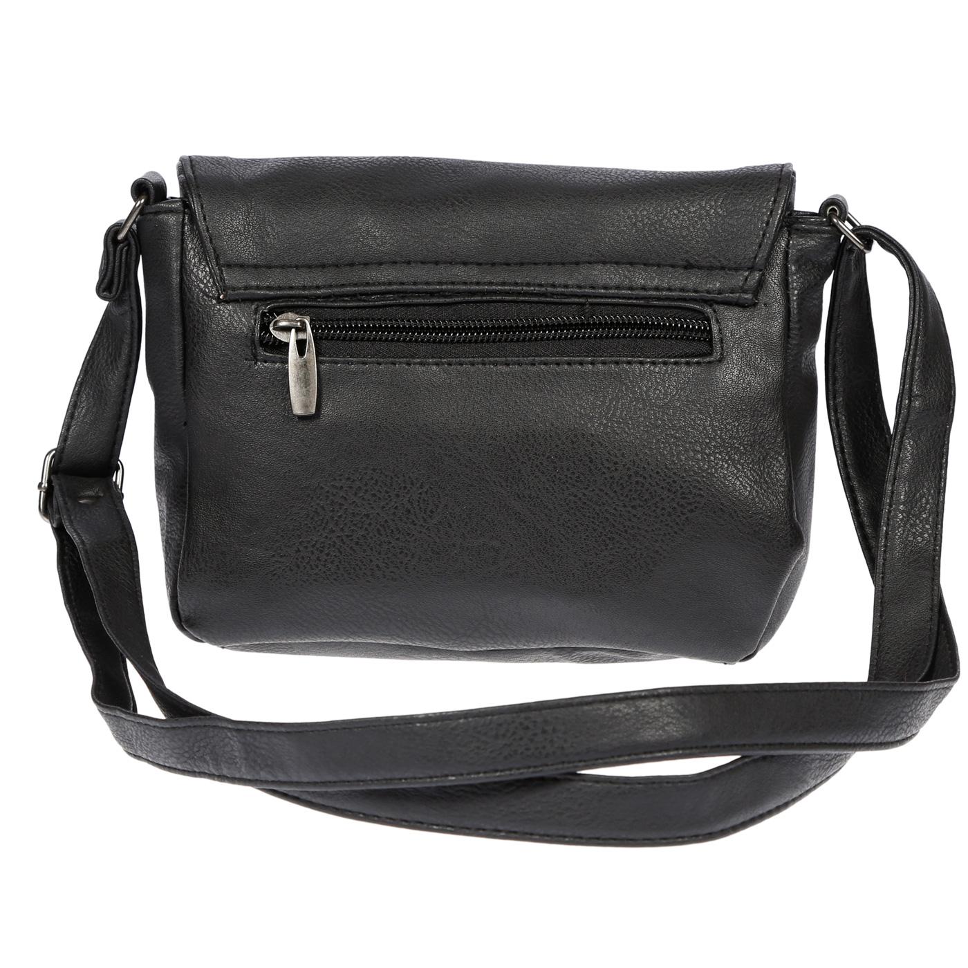 Kleine-Damen-Tasche-Umhaengetasche-Schultertasche-Crossover-Bag-Leder-Optik-NEU Indexbild 16