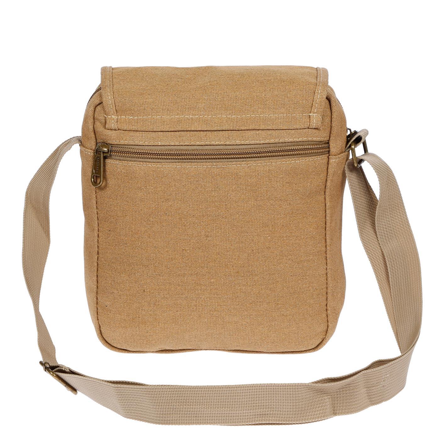 Damen-Herren-Tasche-Canvas-Umhaengetasche-Schultertasche-Crossover-Bag-Handtasche Indexbild 29
