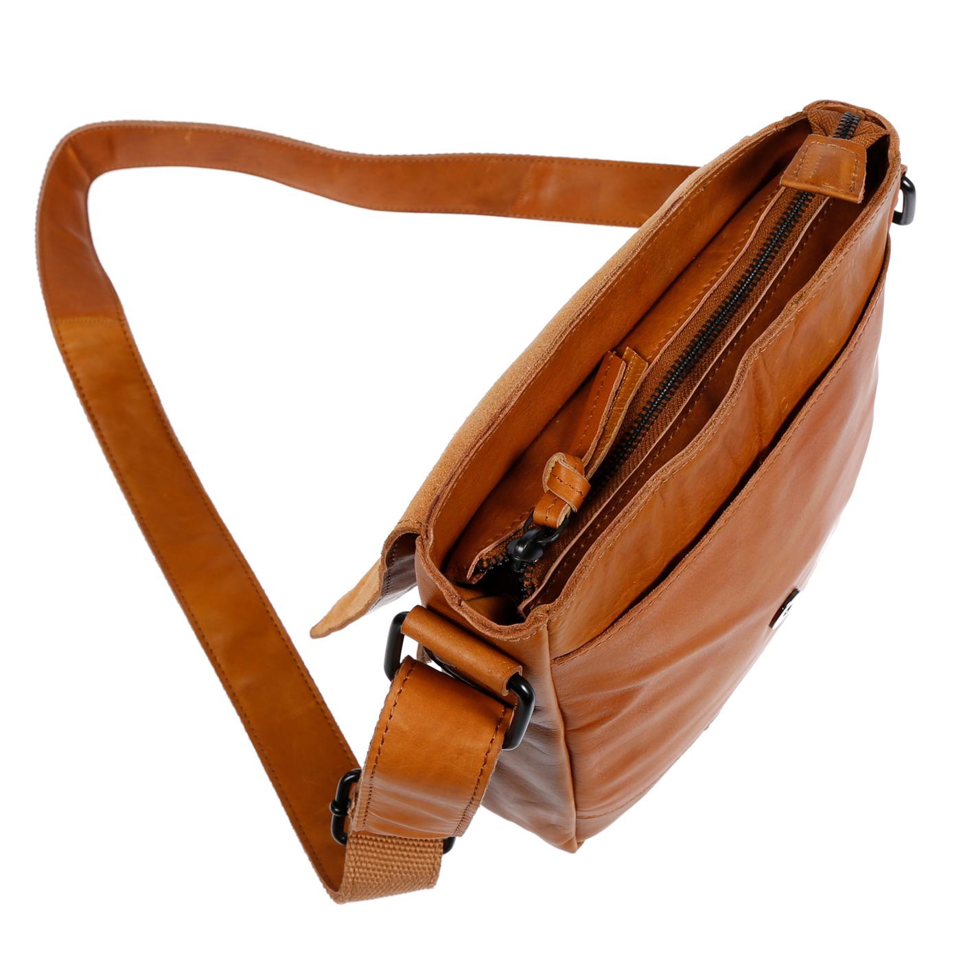Echt-Leder-Herren-Damen-Umhaengetasche-Tasche-RFID-Schutz-Schultertasche-Umhaenger Indexbild 31