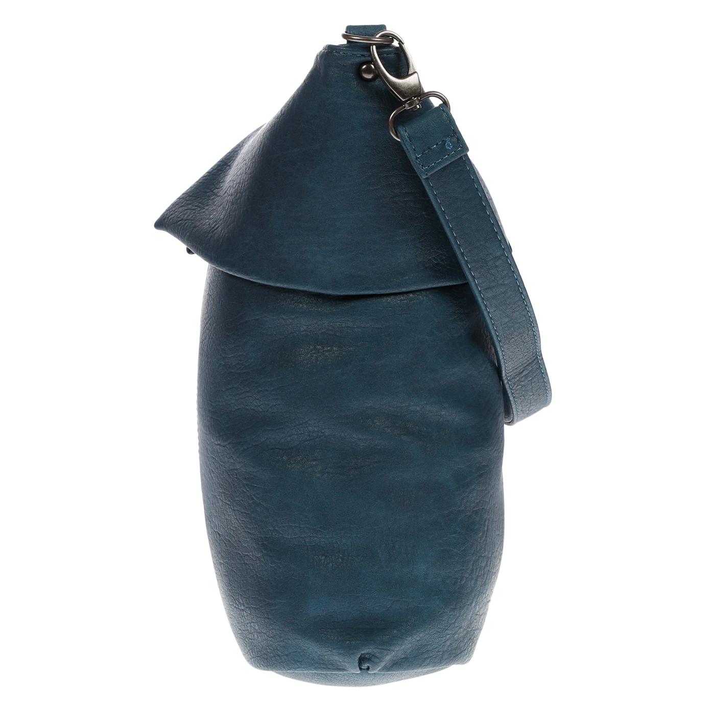 Damentasche-Umhaengetasche-Handtasche-Schultertasche-Leder-Optik-Tasche-Schwarz Indexbild 14