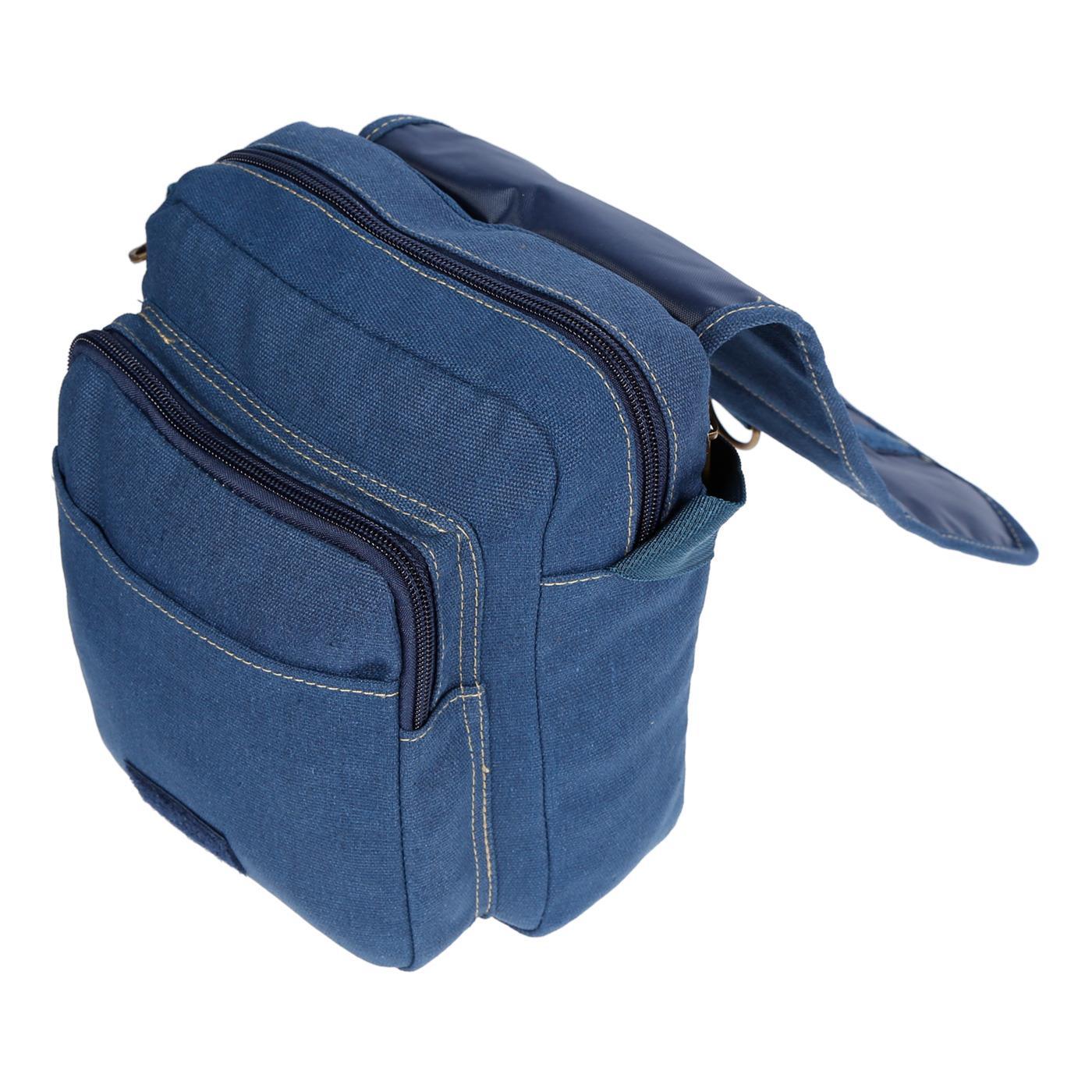 Damen-Herren-Tasche-Canvas-Umhaengetasche-Schultertasche-Crossover-Bag-Handtasche Indexbild 35