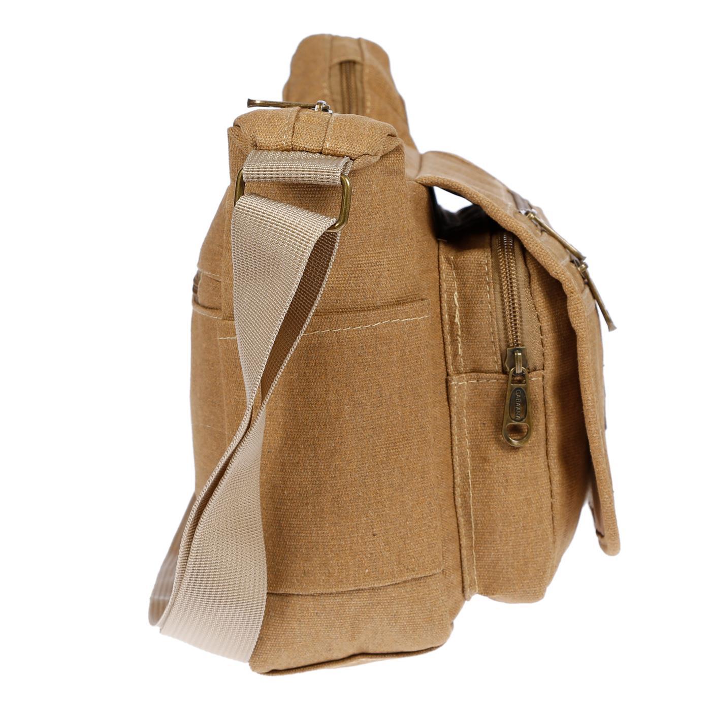 Damen-Tasche-Canvas-Umhaengetasche-Schultertasche-Crossover-Bag-Damenhandtasche Indexbild 45