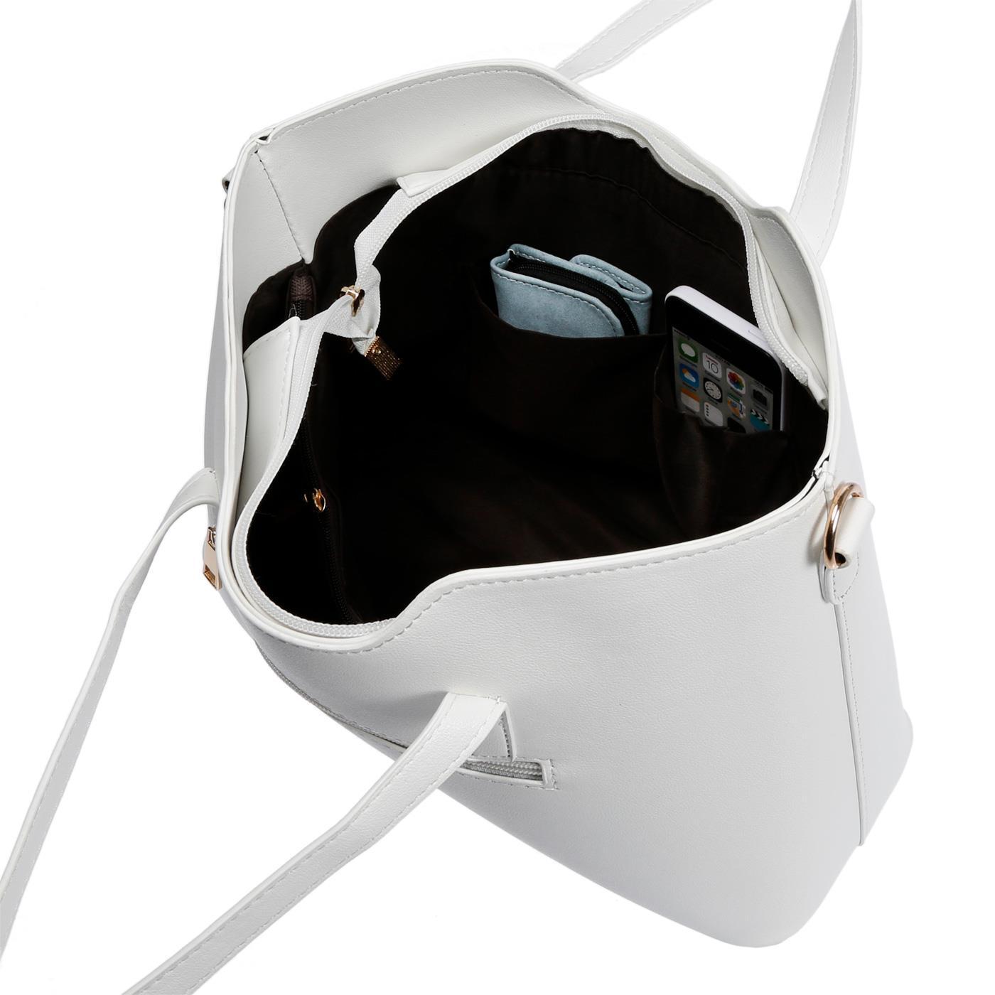 Kossberg-Damen-Tasche-Henkeltasche-Schultertasche-Umhaengetasche-Leder-Optik-Bag Indexbild 30