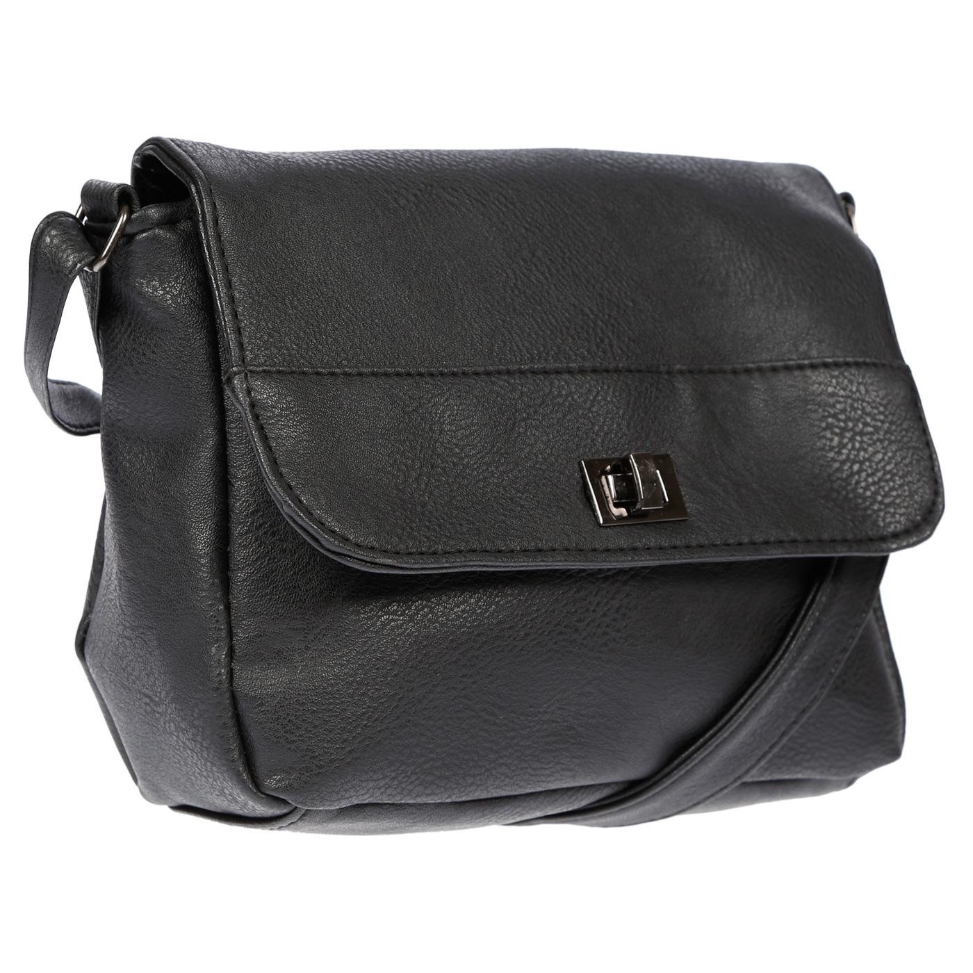 Kleine-Damen-Tasche-Umhaengetasche-Schultertasche-Crossover-Bag-Leder-Optik-NEU Indexbild 14