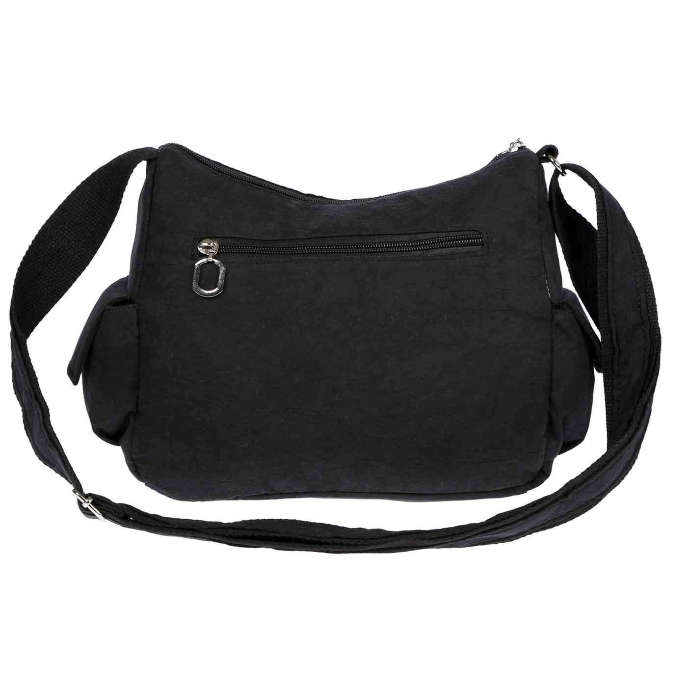 Damenhandtasche-Schultertasche-Tasche-Umhaengetasche-Canvas-Shopper-Crossover-Bag Indexbild 6