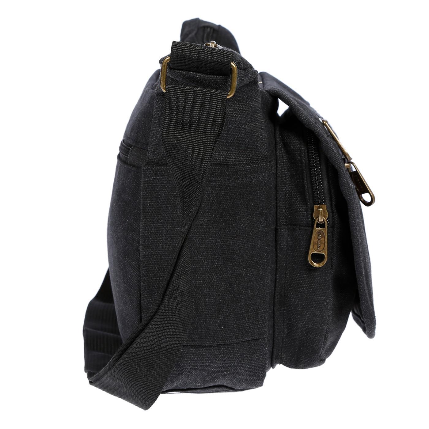 Damen-Tasche-Canvas-Umhaengetasche-Schultertasche-Crossover-Bag-Damenhandtasche Indexbild 15
