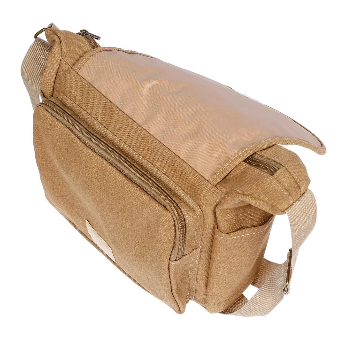 Damen-Tasche-Canvas-Umhaengetasche-Schultertasche-Crossover-Bag-Damenhandtasche Indexbild 47
