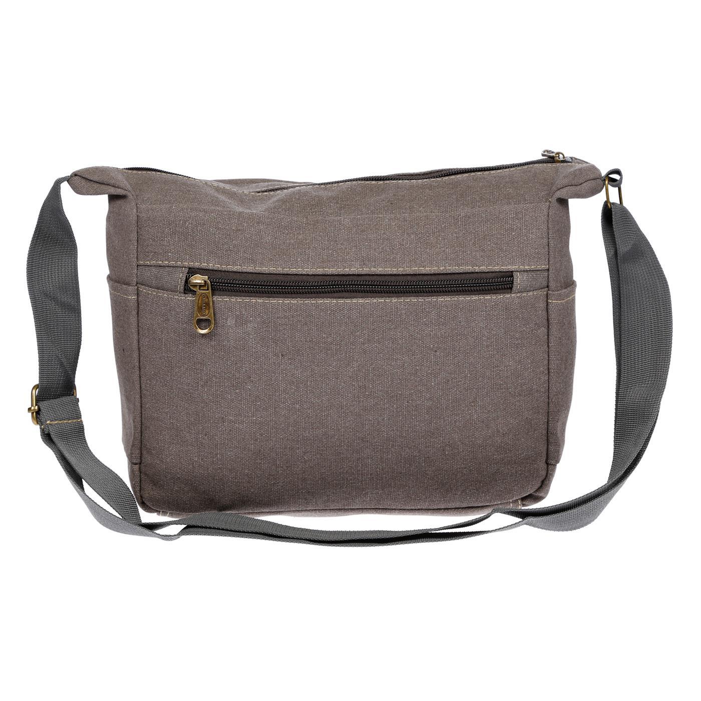 Damen-Tasche-Canvas-Umhaengetasche-Schultertasche-Crossover-Bag-Damenhandtasche Indexbild 34