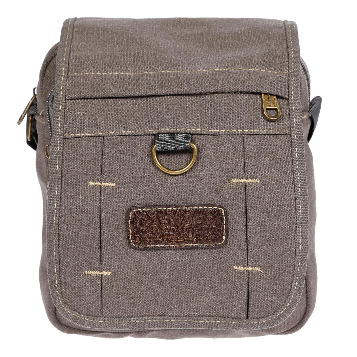 Damen-Herren-Tasche-Canvas-Umhaengetasche-Schultertasche-Crossover-Bag-Handtasche Indexbild 17