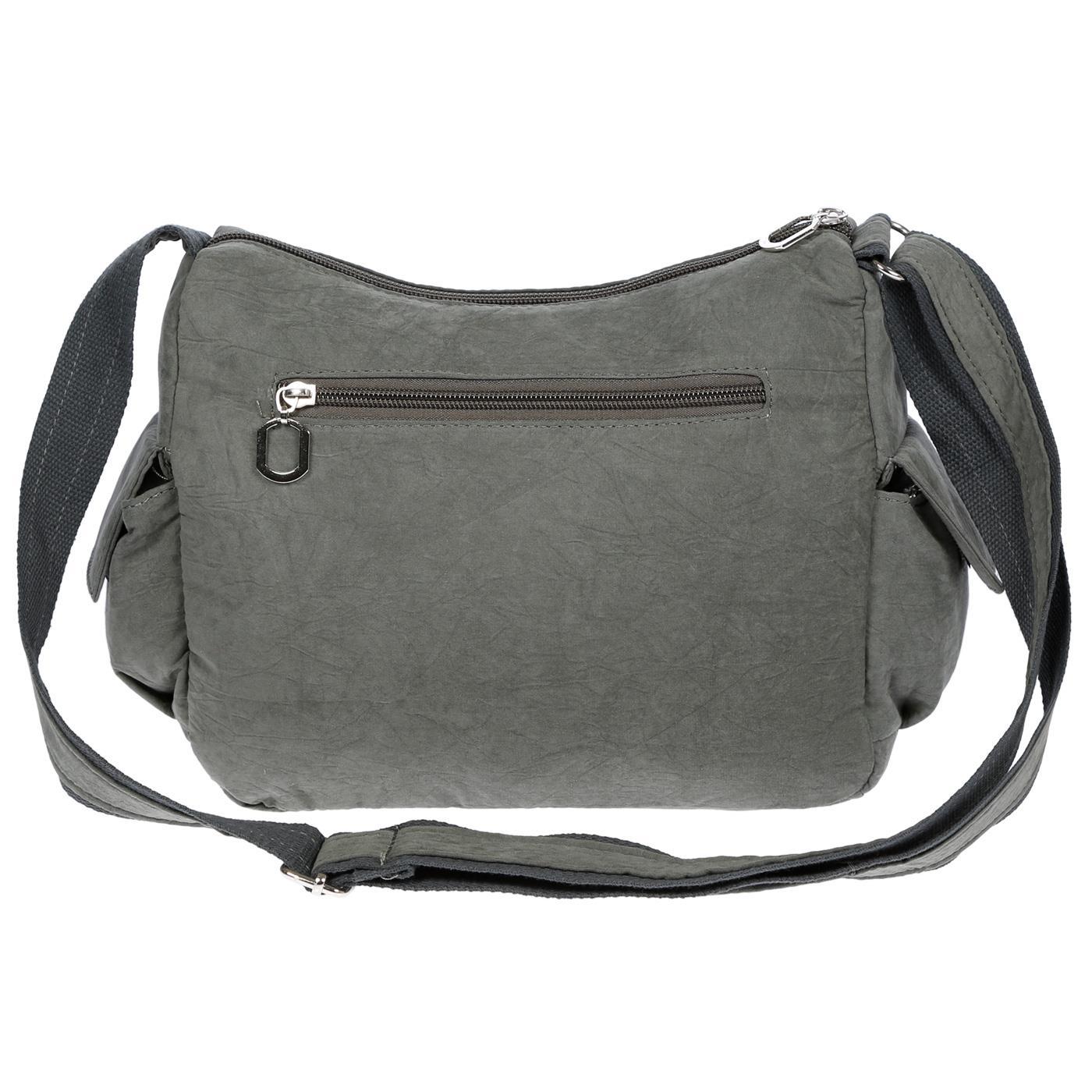 Damenhandtasche-Schultertasche-Tasche-Umhaengetasche-Canvas-Shopper-Crossover-Bag Indexbild 17