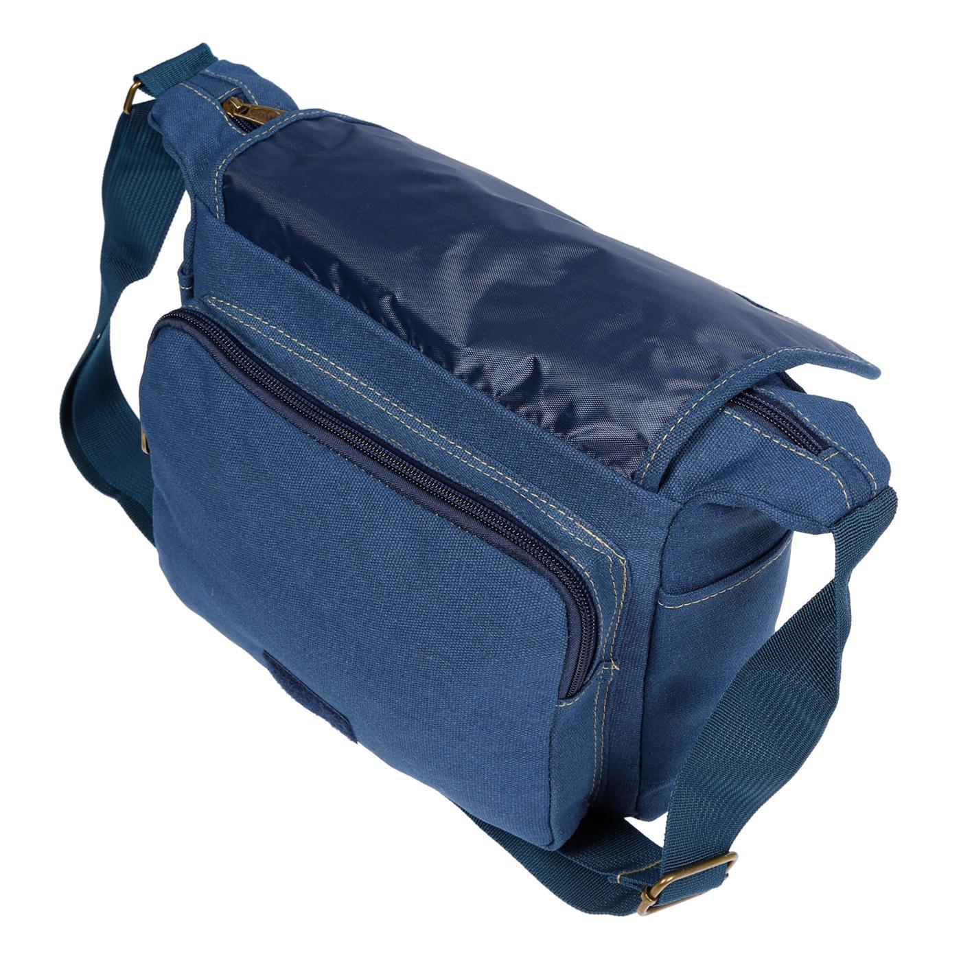 Damen-Tasche-Canvas-Umhaengetasche-Schultertasche-Crossover-Bag-Damenhandtasche Indexbild 23