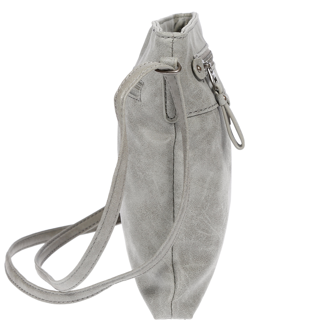 Damen-Handtasche-Umhaengetasche-Schultertasche-Tasche-Leder-Optik-Schwarz-Weiss Indexbild 39