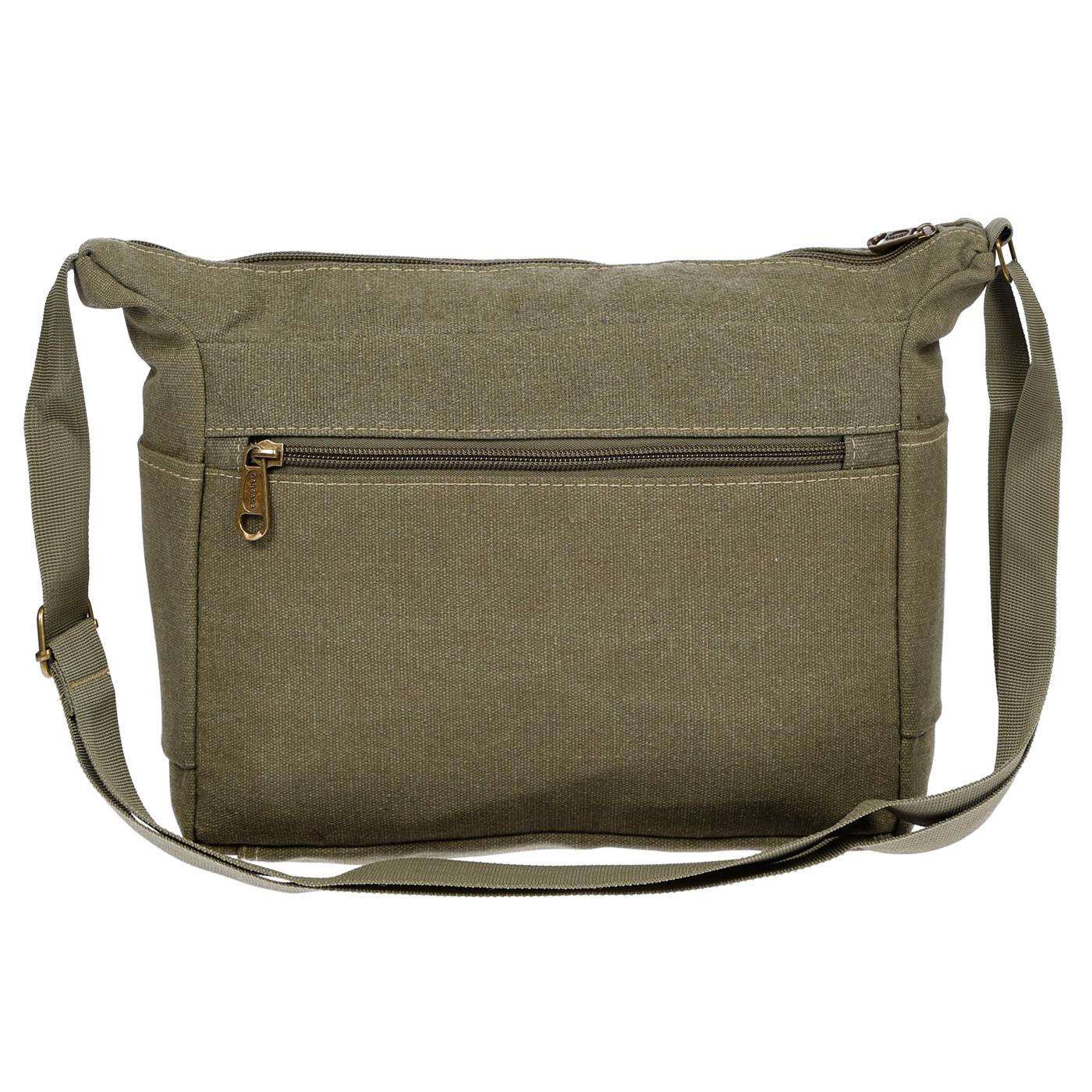 Damen-Tasche-Canvas-Umhaengetasche-Schultertasche-Crossover-Bag-Damenhandtasche Indexbild 40