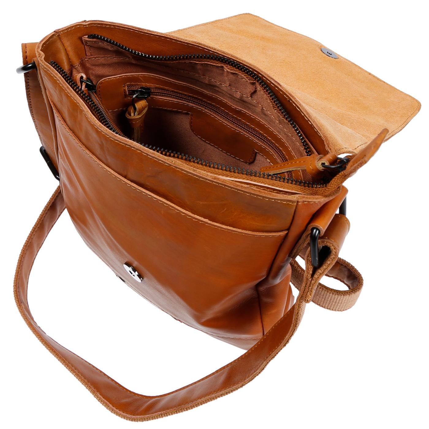 Echt-Leder-Herren-Damen-Umhaengetasche-Tasche-RFID-Schutz-Schultertasche-Umhaenger Indexbild 33
