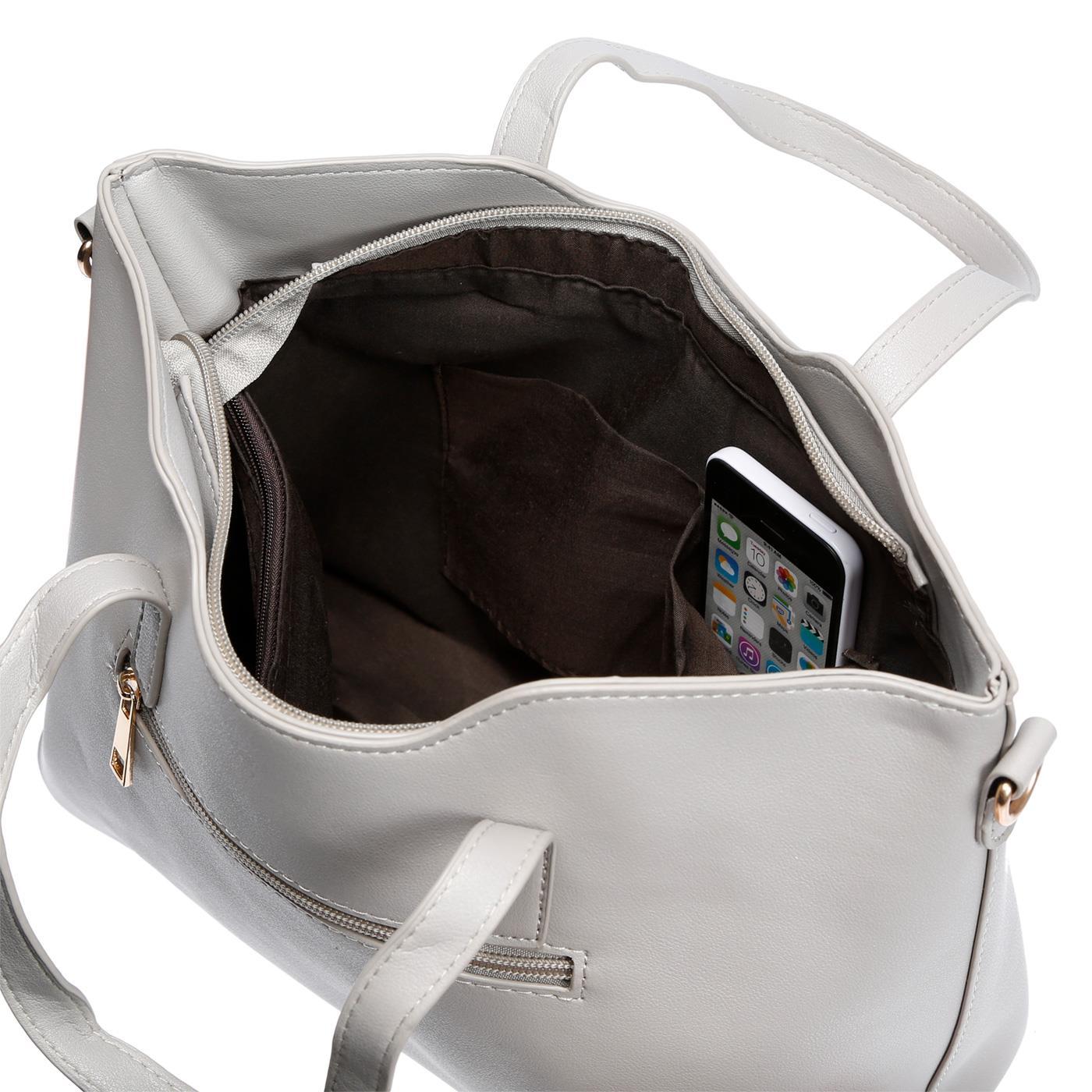 Kossberg-Damen-Tasche-Henkeltasche-Schultertasche-Umhaengetasche-Leder-Optik-Bag Indexbild 53