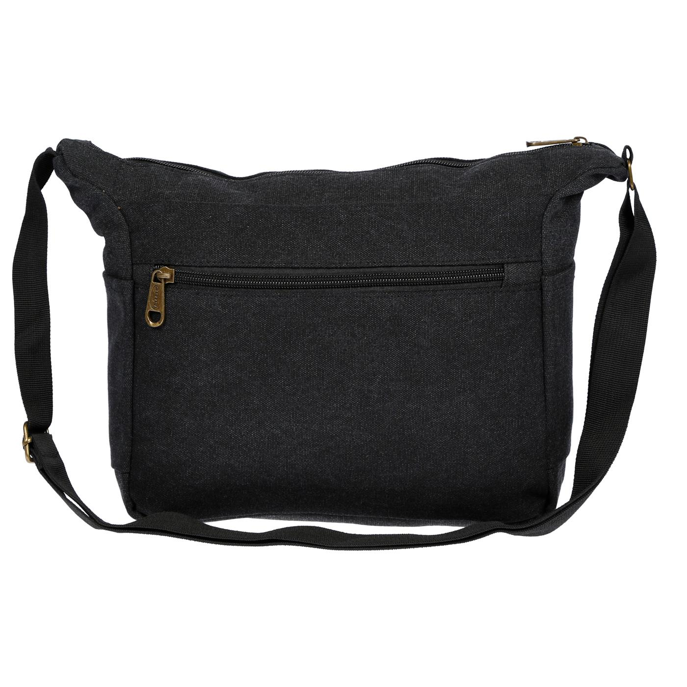 Damen-Tasche-Canvas-Umhaengetasche-Schultertasche-Crossover-Bag-Damenhandtasche Indexbild 16