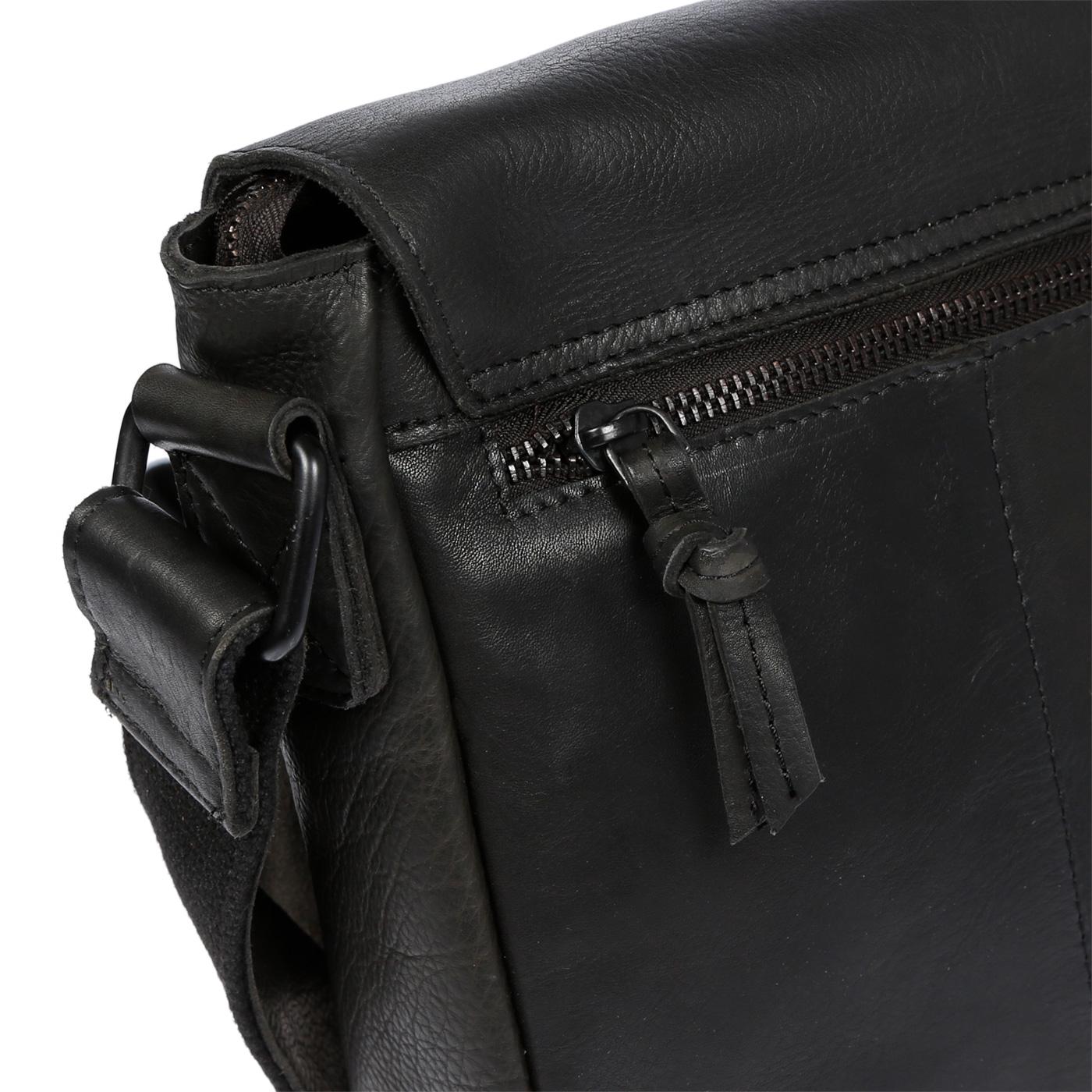 Echt-Leder-Herren-Damen-Umhaengetasche-Tasche-RFID-Schutz-Schultertasche-Umhaenger Indexbild 18
