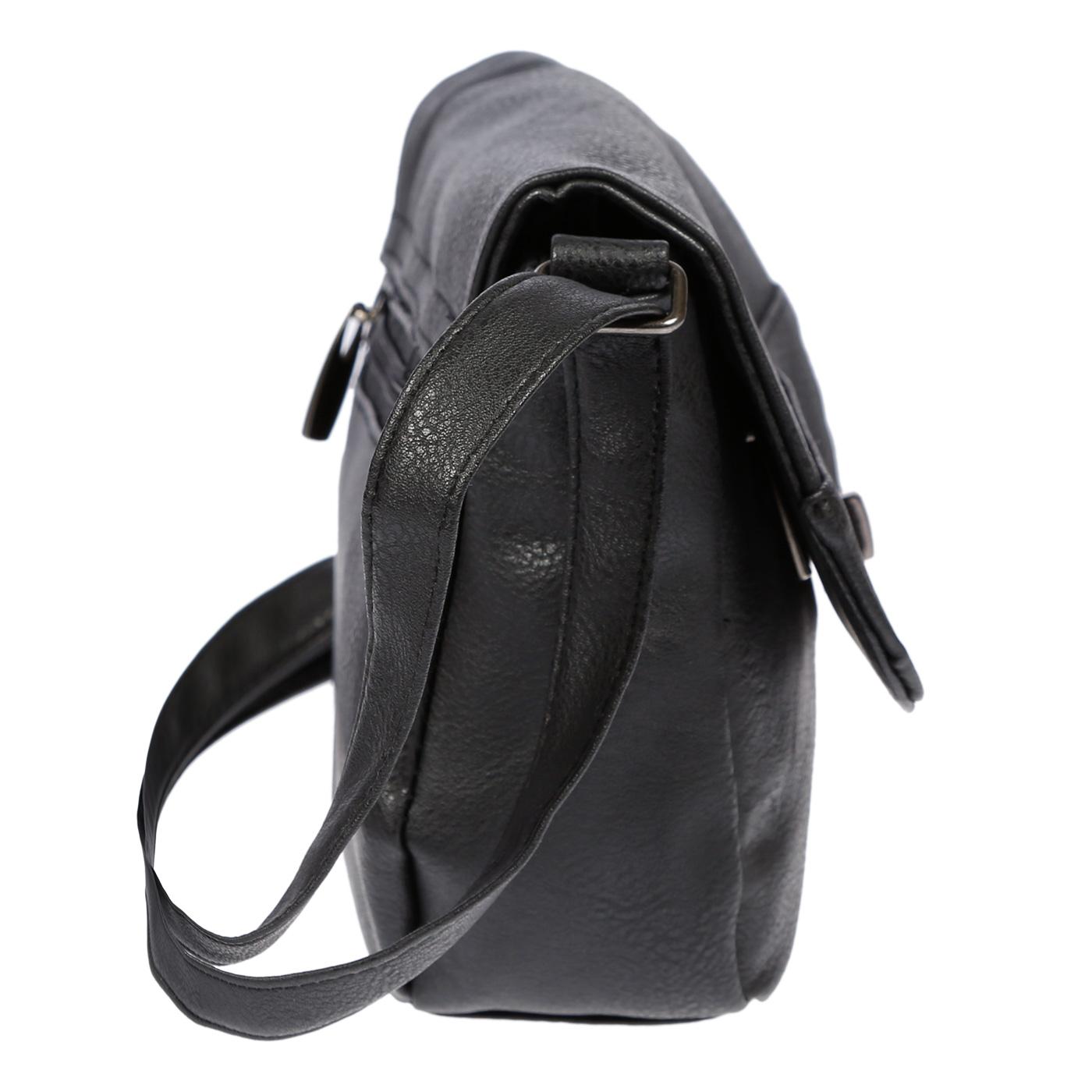Kleine-Damen-Tasche-Umhaengetasche-Schultertasche-Crossover-Bag-Leder-Optik-NEU Indexbild 15