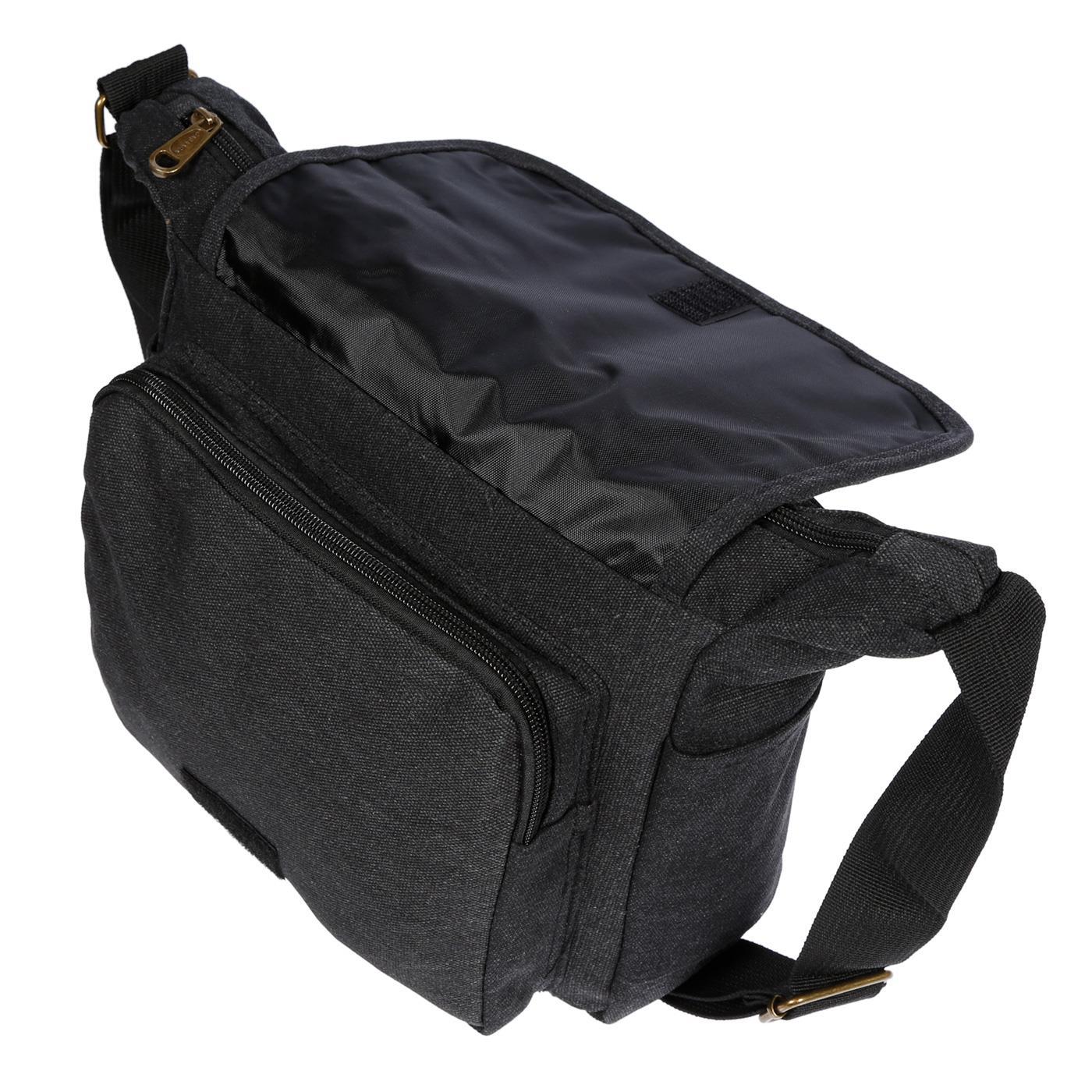 Damen-Tasche-Canvas-Umhaengetasche-Schultertasche-Crossover-Bag-Damenhandtasche Indexbild 17