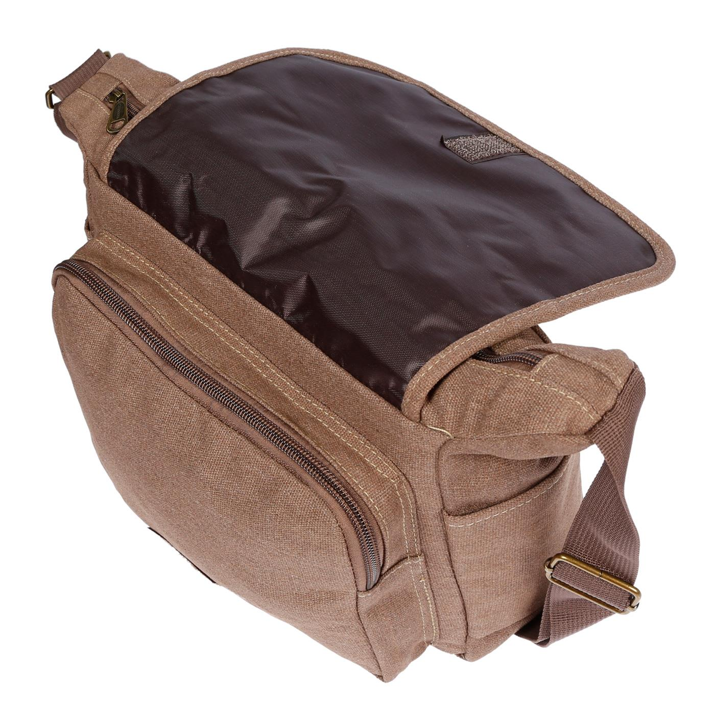 Damen-Tasche-Canvas-Umhaengetasche-Schultertasche-Crossover-Bag-Damenhandtasche Indexbild 29