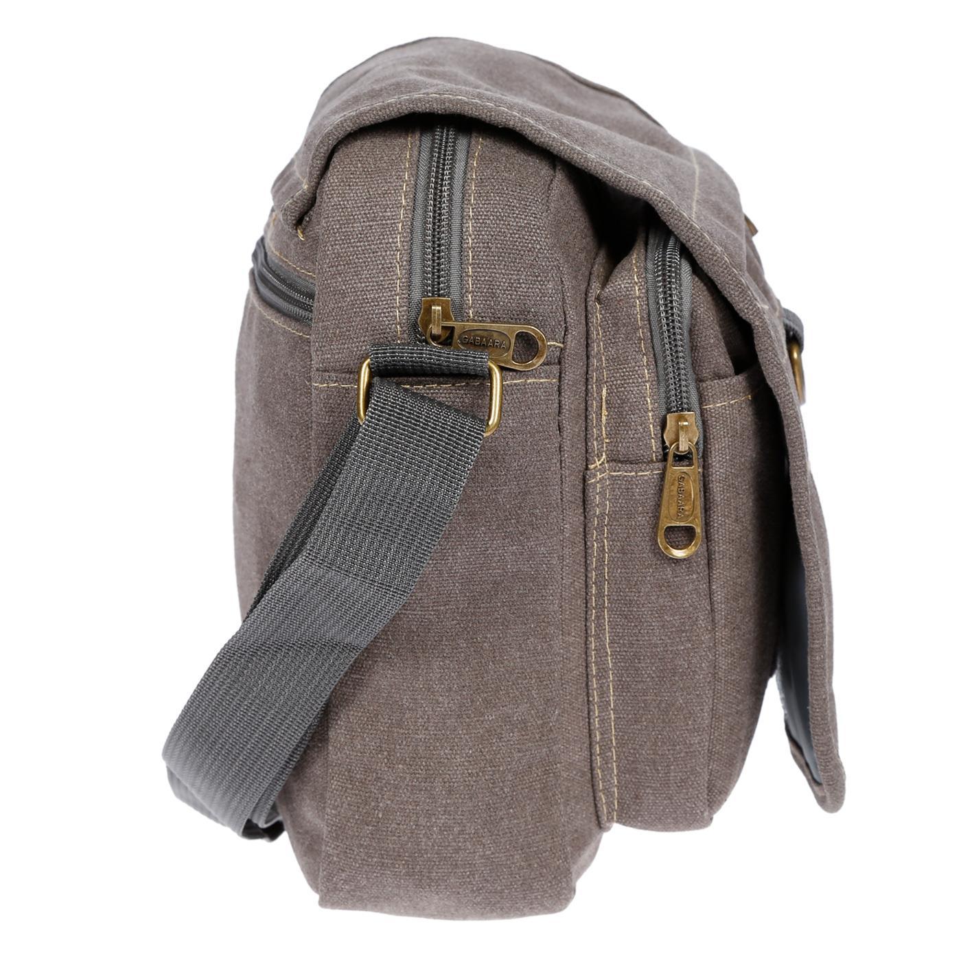 Damen-Herren-Tasche-Canvas-Umhaengetasche-Schultertasche-Crossover-Bag-Handtasche Indexbild 19