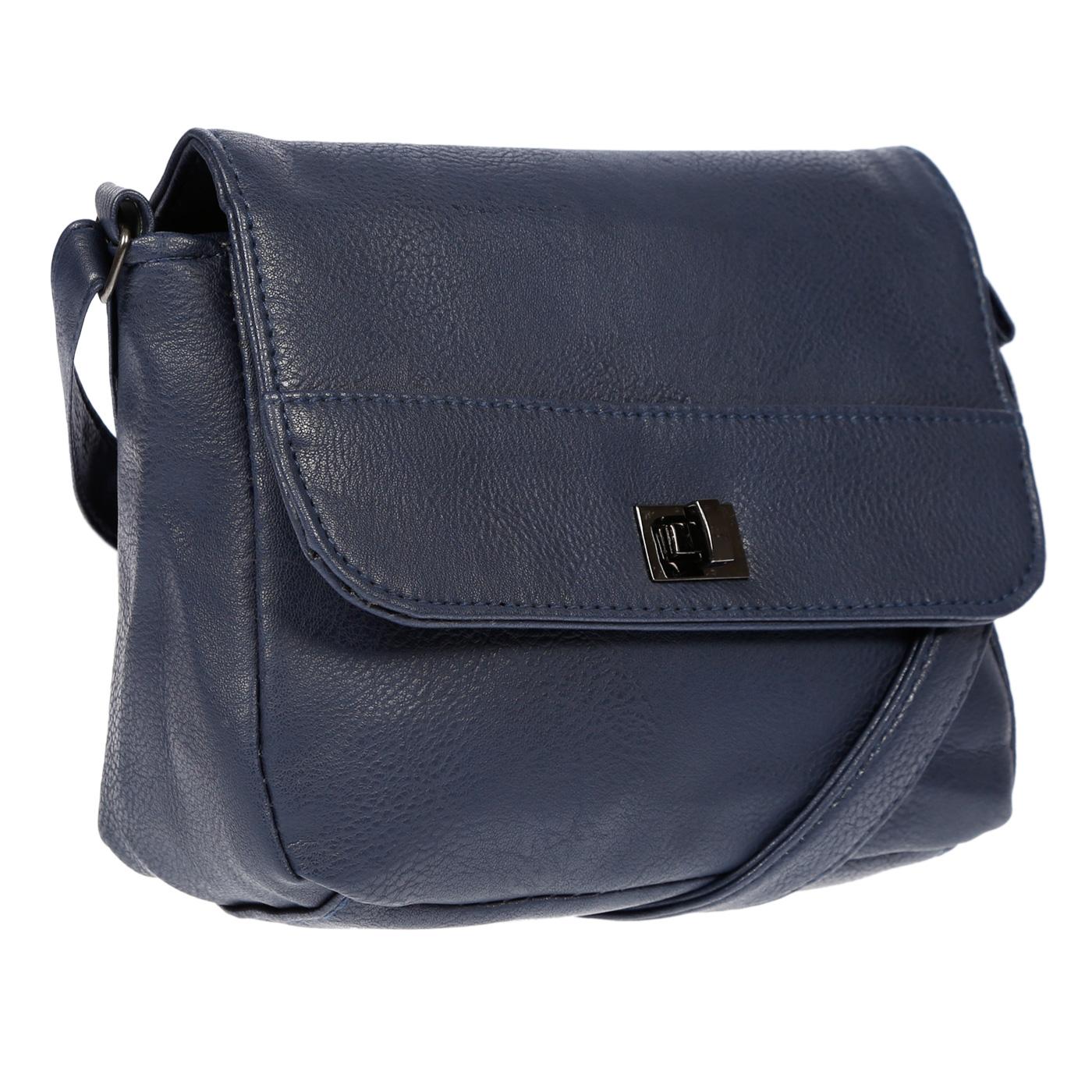 Kleine-Damen-Tasche-Umhaengetasche-Schultertasche-Crossover-Bag-Leder-Optik-NEU Indexbild 38