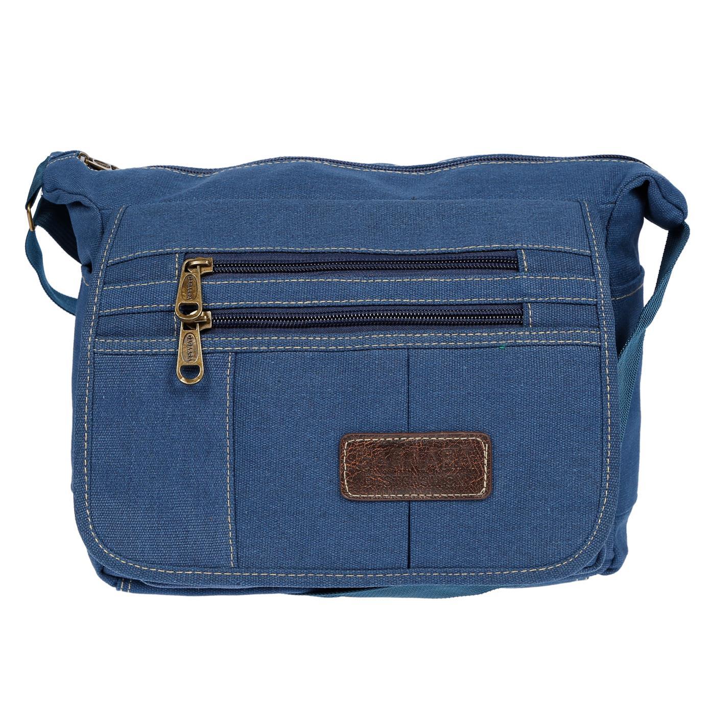 Damen-Tasche-Canvas-Umhaengetasche-Schultertasche-Crossover-Bag-Damenhandtasche Indexbild 20