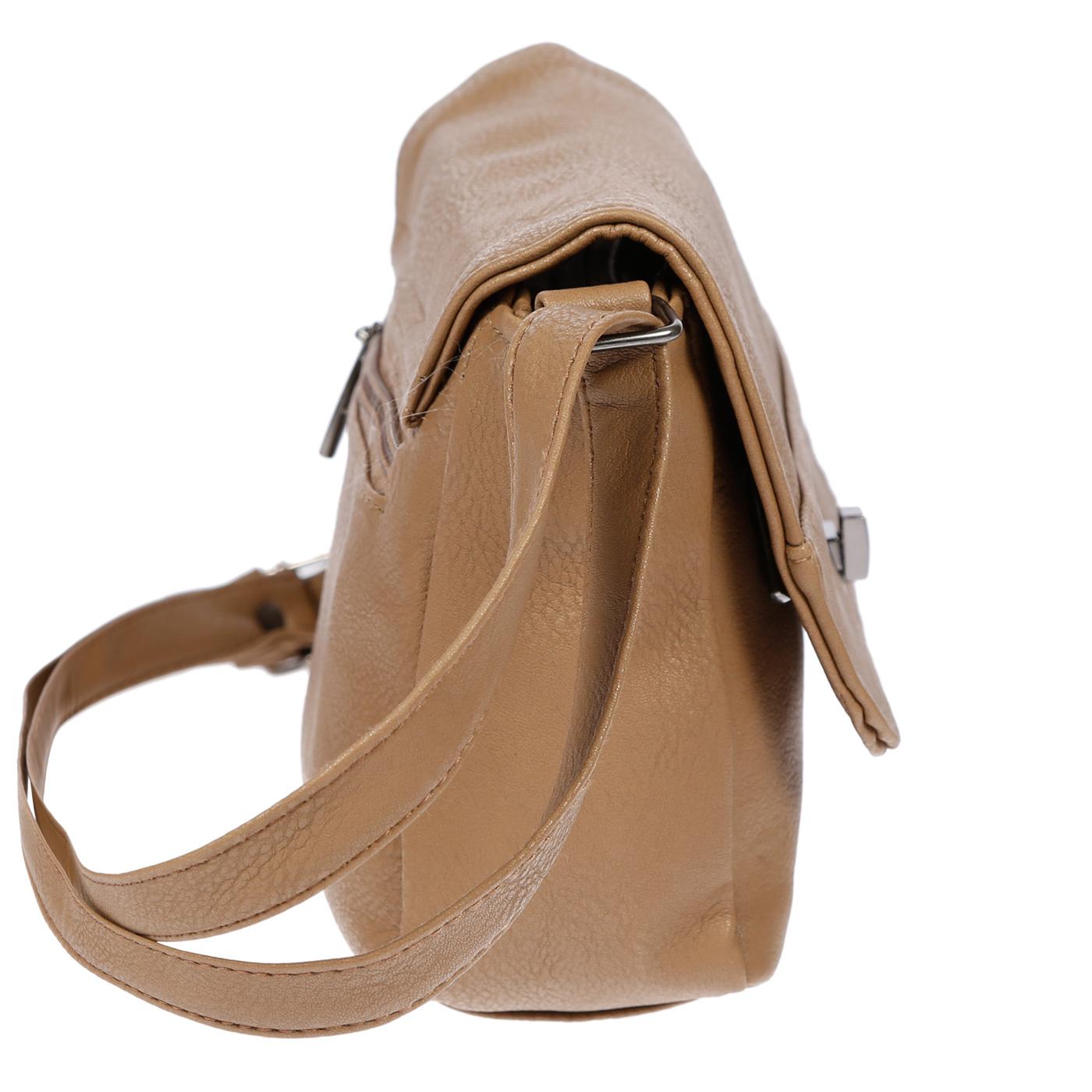 Kleine-Damen-Tasche-Umhaengetasche-Schultertasche-Crossover-Bag-Leder-Optik-NEU Indexbild 31
