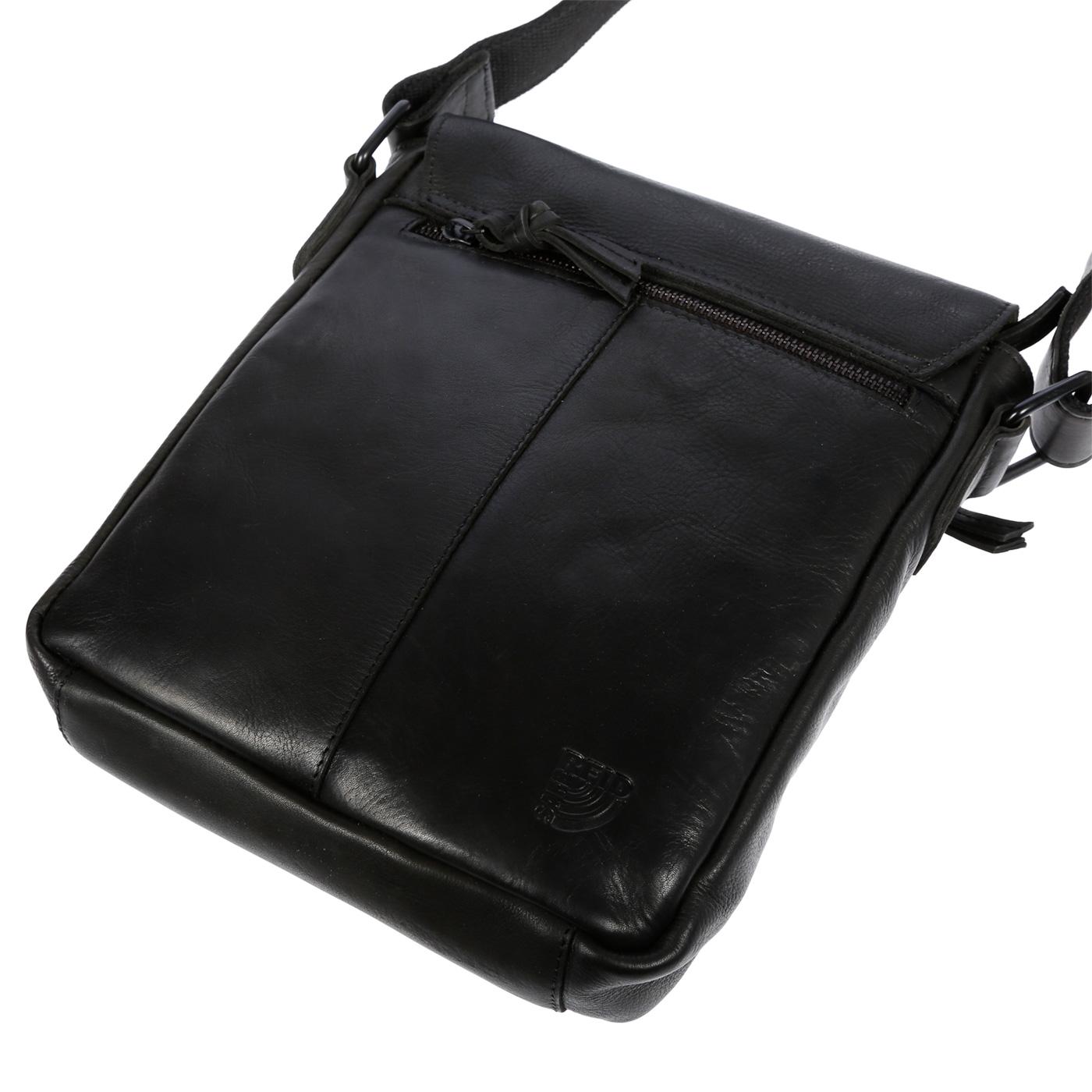 Echt-Leder-Herren-Damen-Umhaengetasche-Tasche-RFID-Schutz-Schultertasche-Umhaenger Indexbild 19