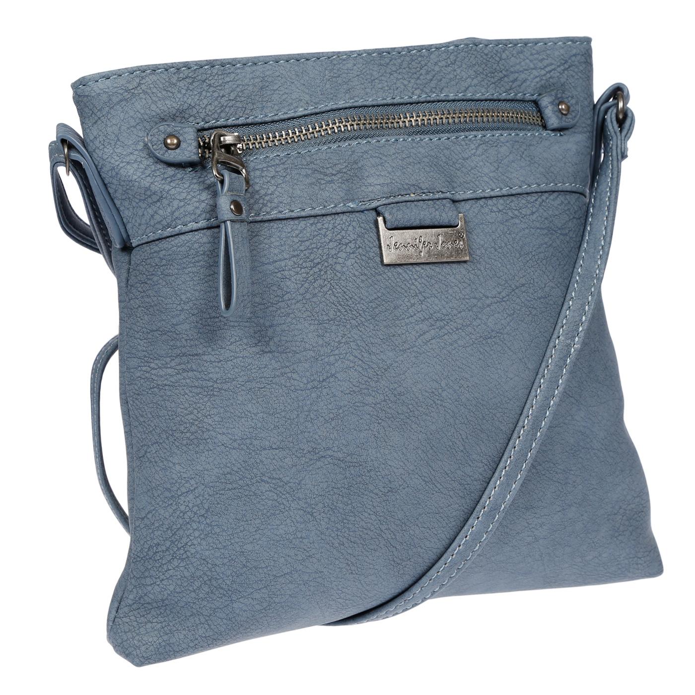 Damen-Handtasche-Umhaengetasche-Schultertasche-Tasche-Leder-Optik-Schwarz-Weiss Indexbild 45