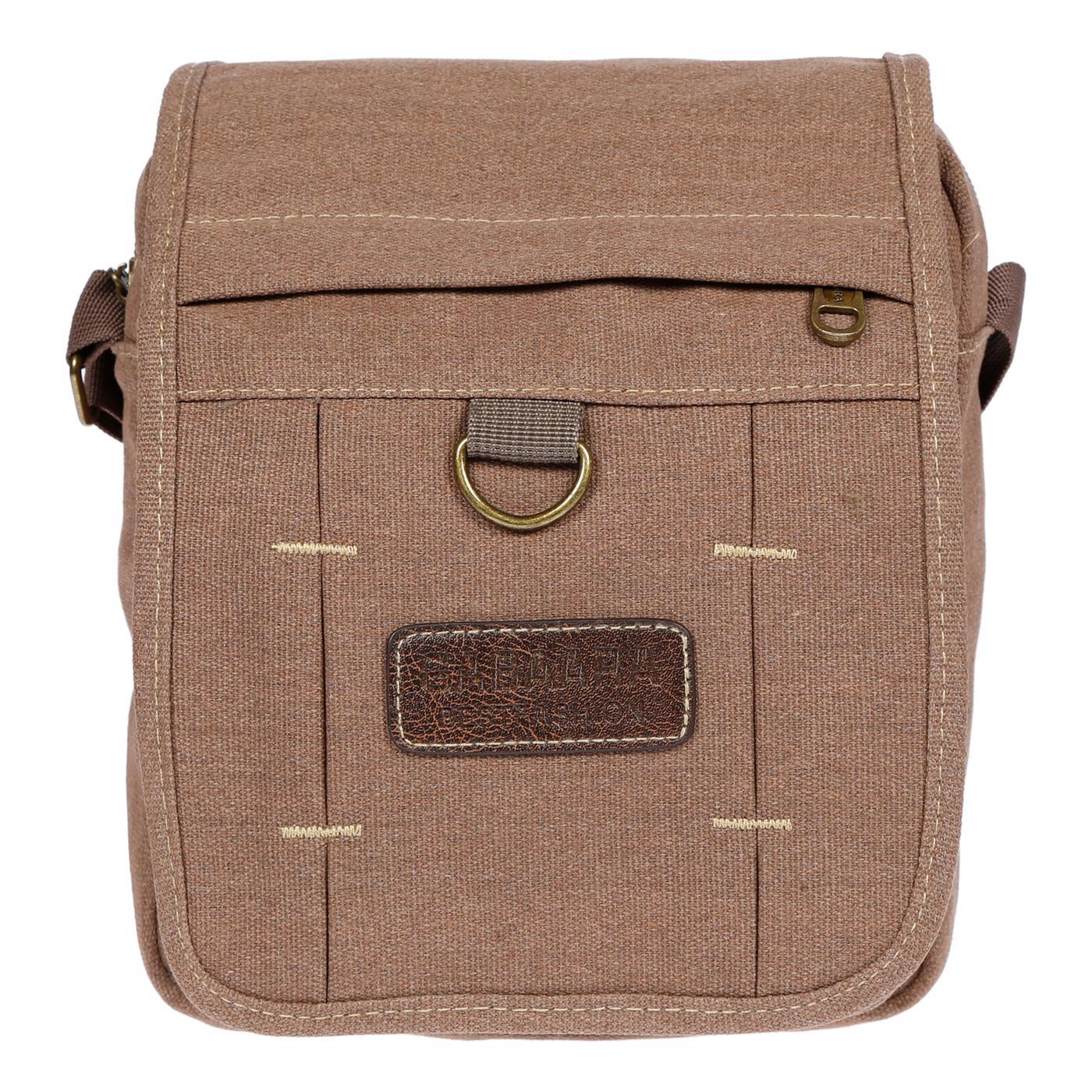 Damen-Herren-Tasche-Canvas-Umhaengetasche-Schultertasche-Crossover-Bag-Handtasche Indexbild 22