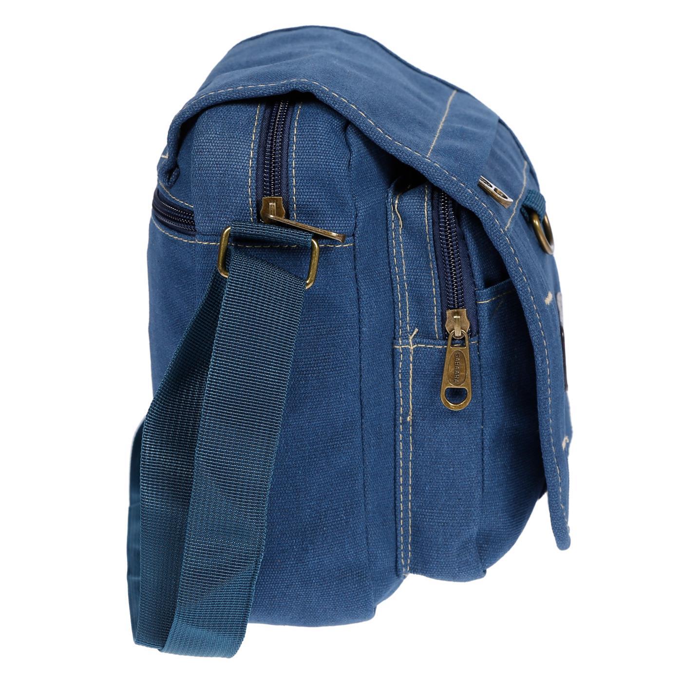 Damen-Herren-Tasche-Canvas-Umhaengetasche-Schultertasche-Crossover-Bag-Handtasche Indexbild 33