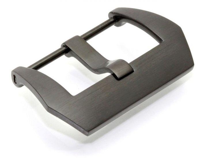 Dornschließe Edelstahl schwarz gebürstet Modell Koso 18 mm