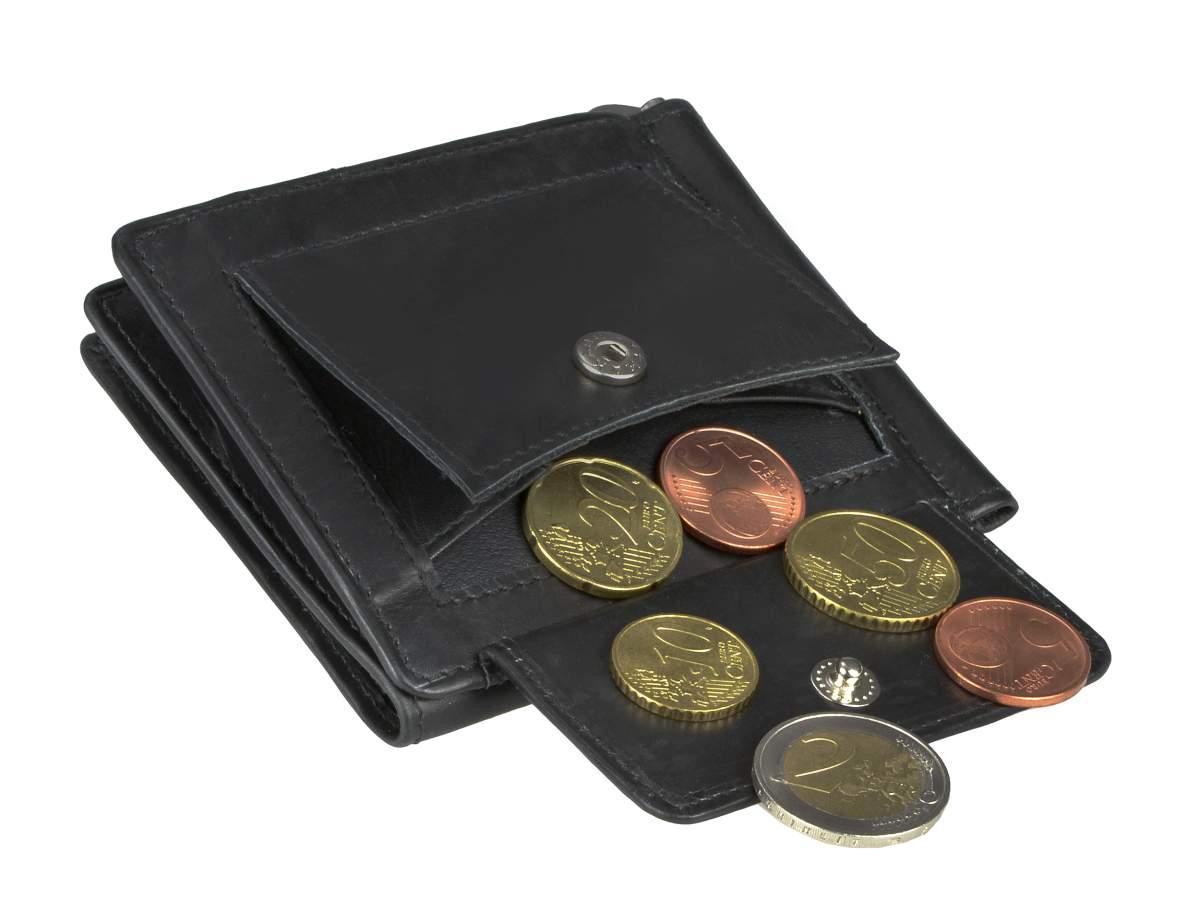 Leder-Dollarclip-Geldboerse-Portemonnaie-Boerse-mit-Klammer-Greenburry-Vintage Indexbild 21