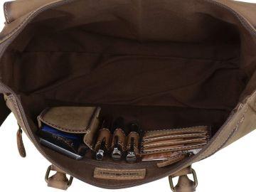 25c63fb3f8044 Aktentasche Businesstasche braun Leder Damen Shopper Handtasche ...