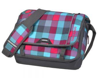 1ac1fe381d84b CoocaZoo Umhängetasche Messenger Bag Schultasche Schultertasche PINK  DISTRICT
