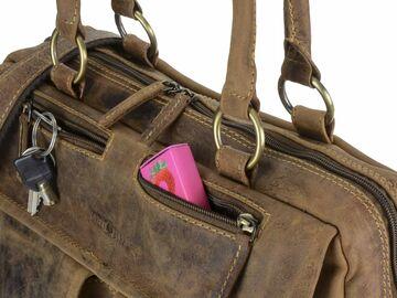 206088073d229 Greenburry Businesstasche Damen Leder Aktentasche Shopper Handtasche  VINTAGE NEU