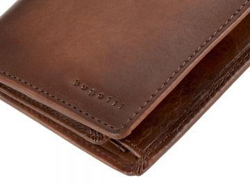 b4e1f6a5bfb5a Bugatti Geldbörse Leder RFID Portemonnaie Hochformat Geldbeutel Herren braun