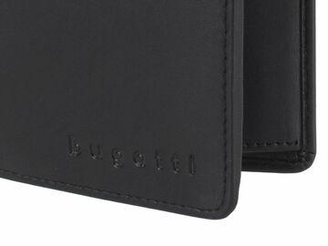 9985ce8e0cf9d Bugatti Geldbörse Leder RFID Portemonnaie Hochformat Geldbeutel Herren  schwarz
