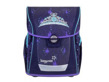 Schulranzen Set 3-teilig Erstklässlerranzen Mädchen Krone Crown