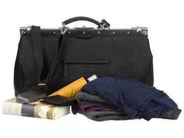 27d6102e1a667 Greenburry Maulbügeltasche Arzttasche Leder schwarz Tasche Oily Tumbled NEU