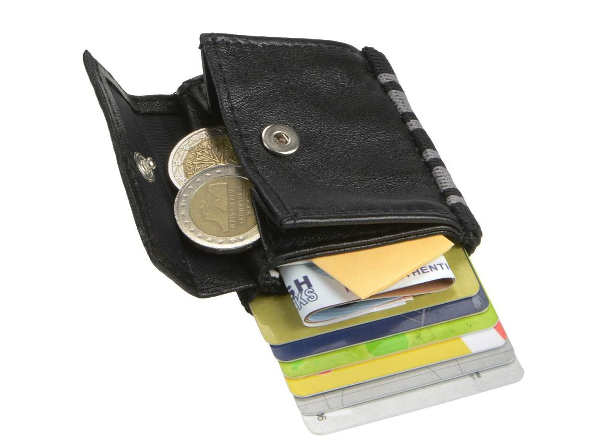 SPACE-WALLET-2-0-PUSH-Kartenboerse-Leder-Miniboerse-Kartenetui-Portemonnaie-Wallet Indexbild 13