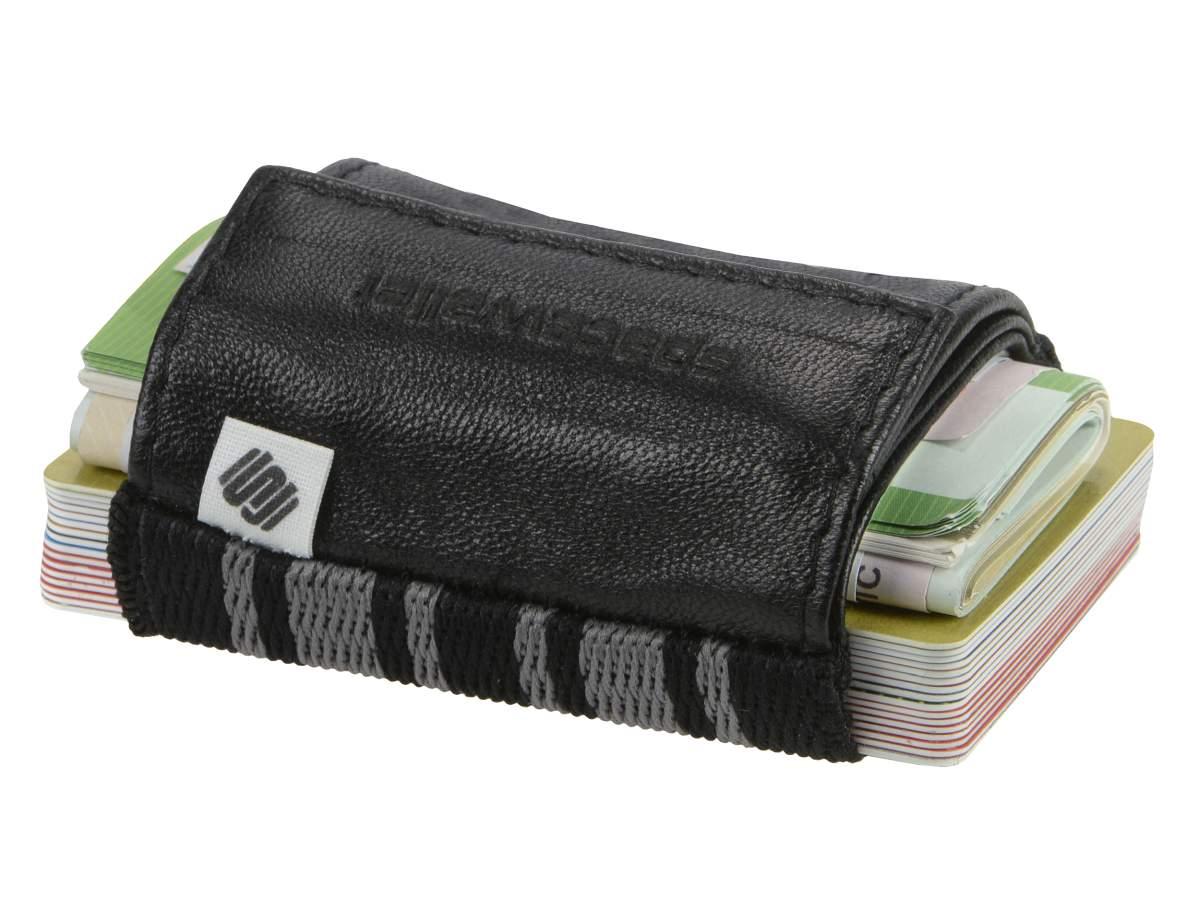 SPACE-WALLET-2-0-PUSH-Kartenboerse-Leder-Miniboerse-Kartenetui-Portemonnaie-Wallet Indexbild 14