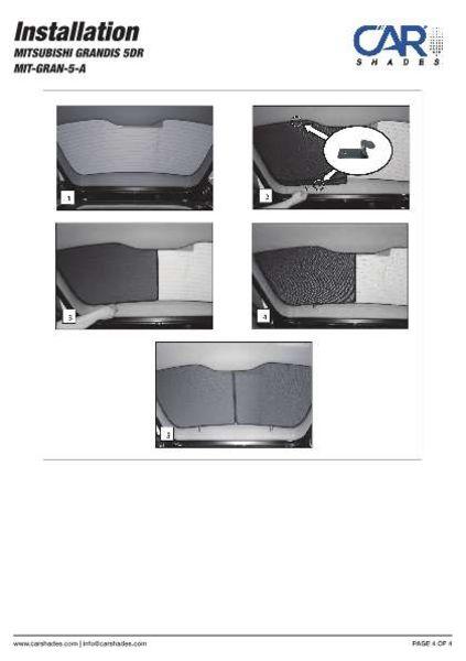 Passgenaue Velours Matten Autoteppiche Mitsubishi Grandis Bj 2003-2011