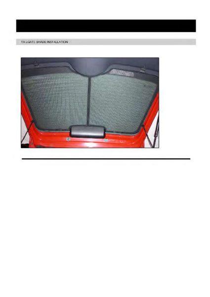 06-14 Sonnenschutz Opel Corsa D+E 3-Türer BJ Heckscheibe Blenden hinten