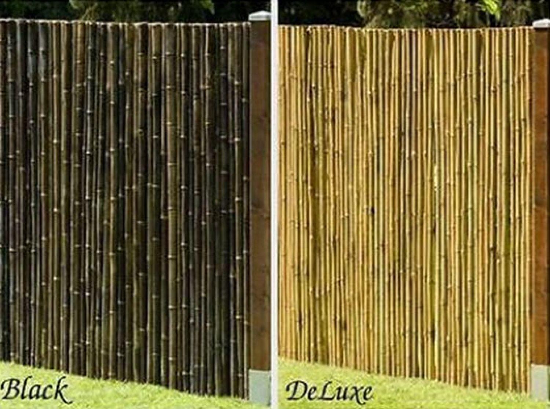 Bambus Sichtschutz Calama Gartenzaun Windschutz Zaun Bambusmatte