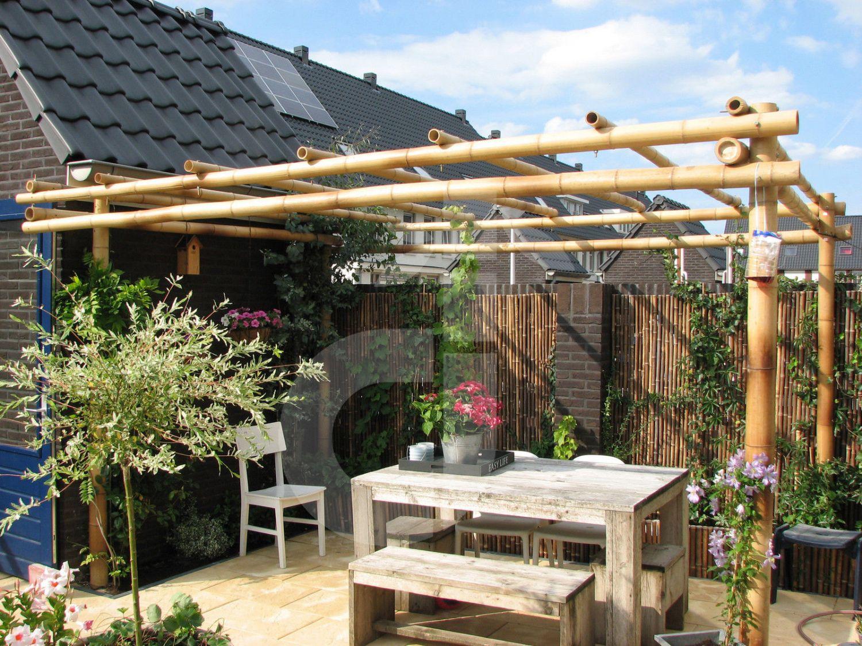 Gut gemocht Bambus Pergola - Pavillon für Ihren Garten - Terrasse - Rankhilfe GR99