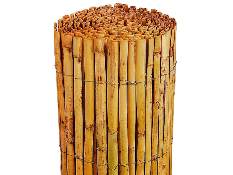 Garten Terrasse Bambus Sichtschutz Calama Gartenzaun Windschutz