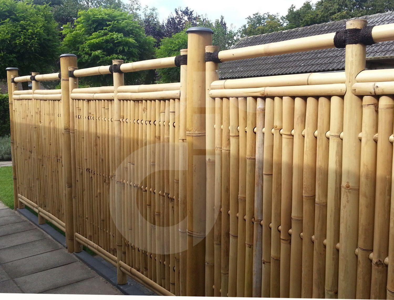 Zaun Bambus bambus sichtschutz garten zaun windschutz bambuszaun sumatra nature
