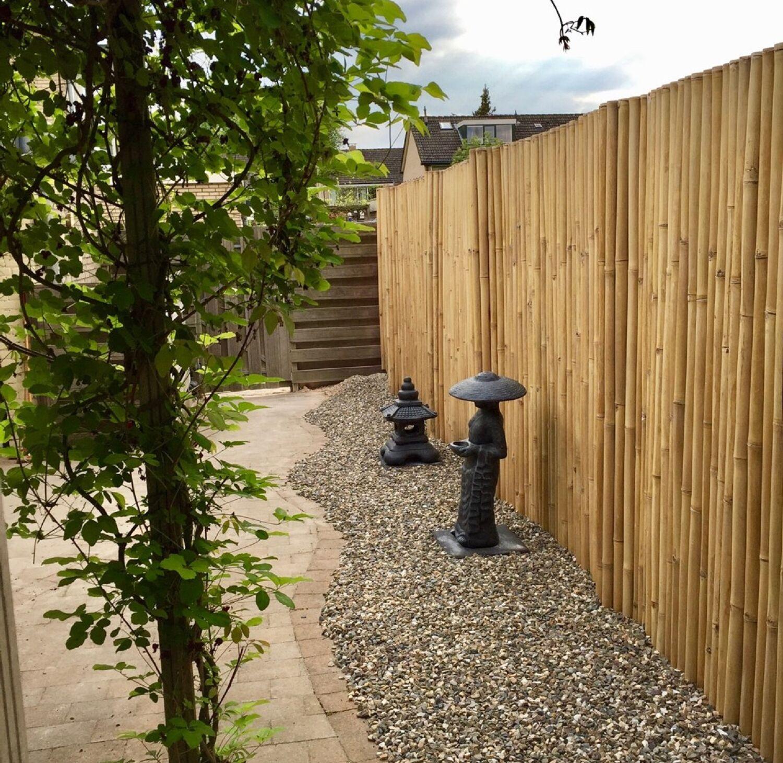 Xl Bambus Sichtschutz Garten Gartenzaun Windschutz Bambusmatte